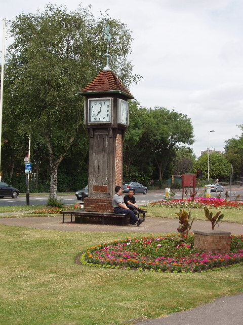 Coronation Clock on Northolt Village Green